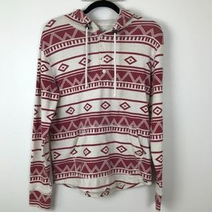 Urban Outfitters On the Byas Aztec Pullover Hoodie